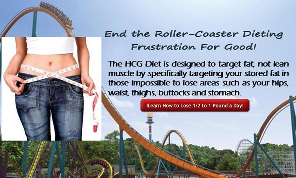 HCG Diet targets stored fat in impossible to lose areas